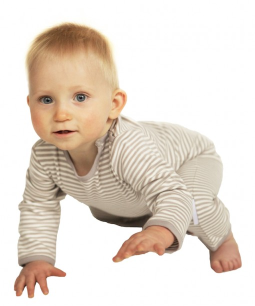ORGANIC COTTON LONG BABYGROW