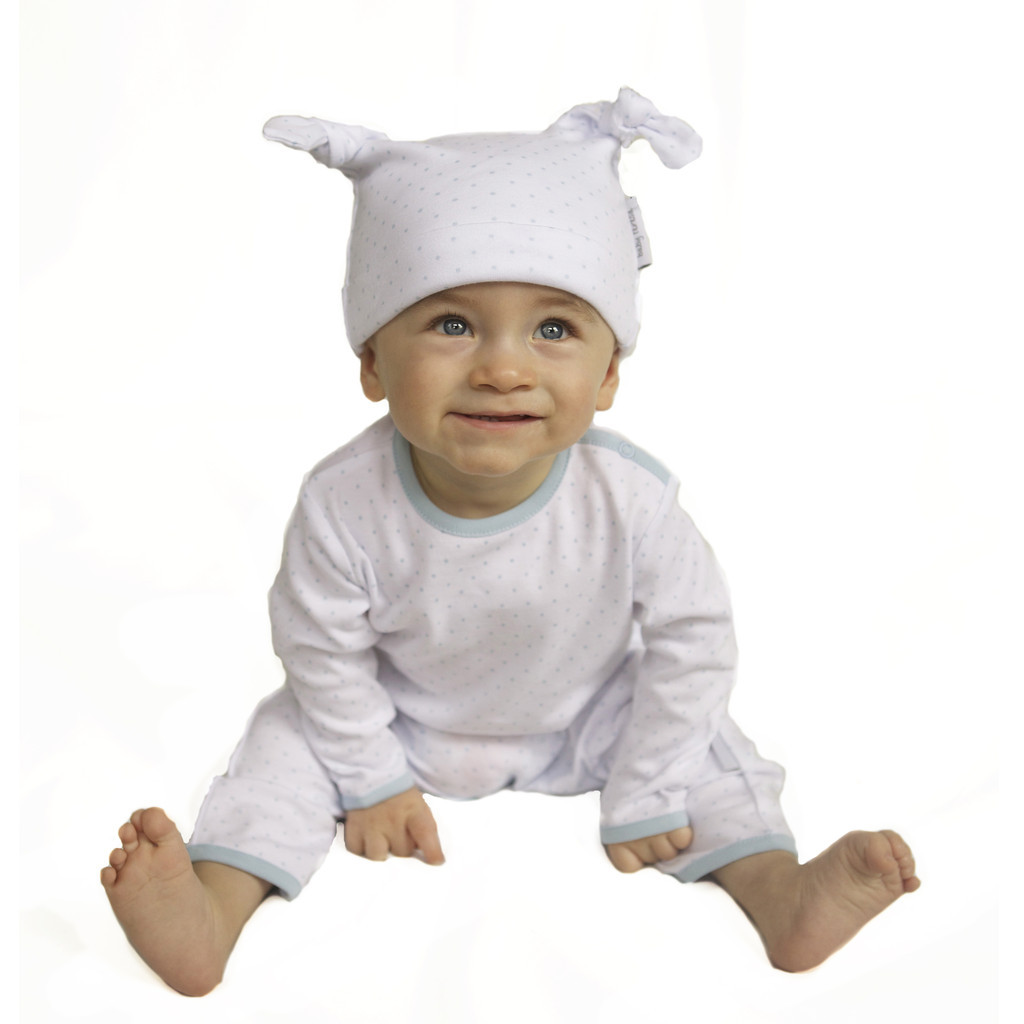 100 Organic Cotton Knotted Baby Hat Baby Teresa