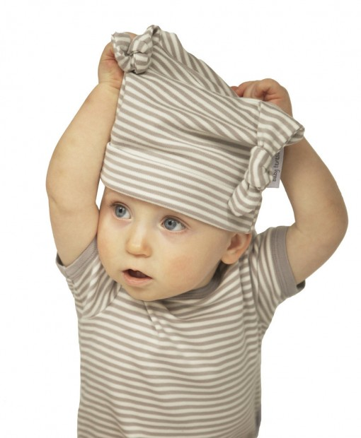 ORGANIC COTTON BABYGROW & MATCHING HAT
