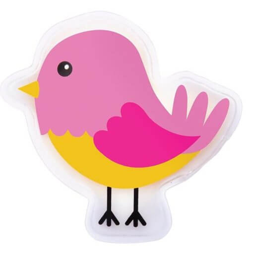 Pink bird cool it